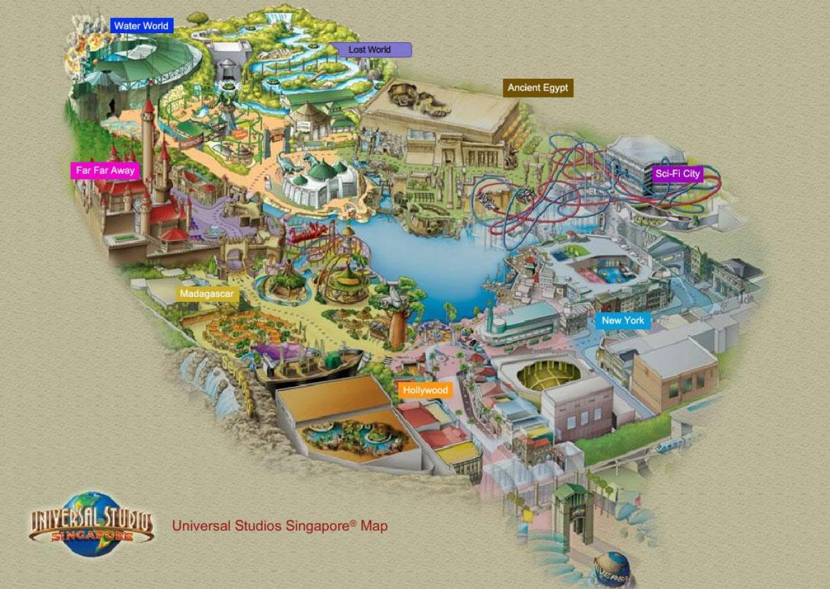 resorts world sentosa map