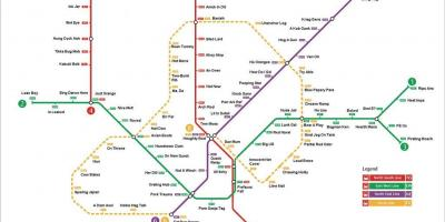Mrt station map Singapore