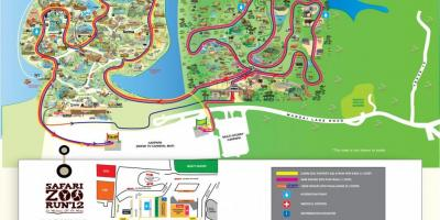 Map of zoo Singapore